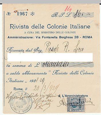 Rivista-Delle-Colonie-Italiane-Roma-1929