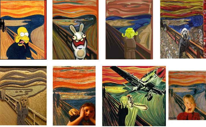 munch-scream-variations