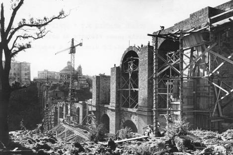 1-Lazio-strada-statale-7-Via-Appia-ricostruzione-del-ponte-di-Ariccia-dopo-la-Seconda-Guerra-Mondiale-1946-1948