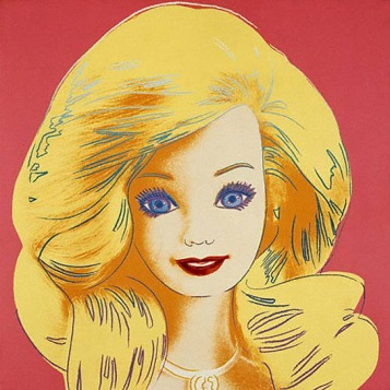 Andy-Warhol-Barbie-1985-©-Mattel