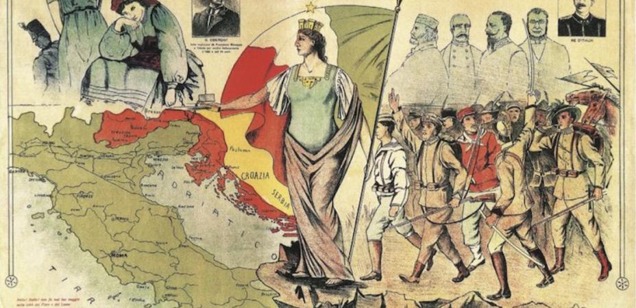 Dalmazia Italiana Cartina.Dalmazia Storia Degli Ultimi 100 Anni Giajr Gia Junior